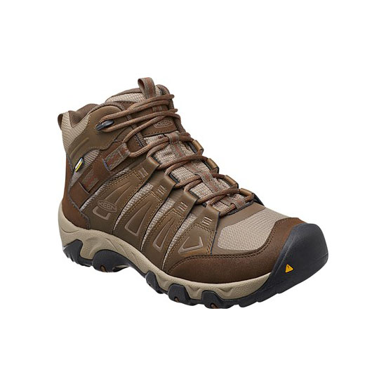 Men KEEN OAKRIDGE WATERPROOF BOOT cascade brown/brindle Outlet Online