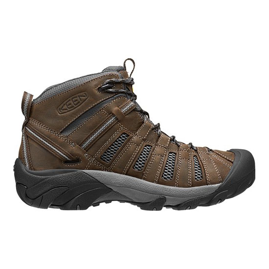 KEEN Men VOYAGEUR MID cascade brown/raven On Sale