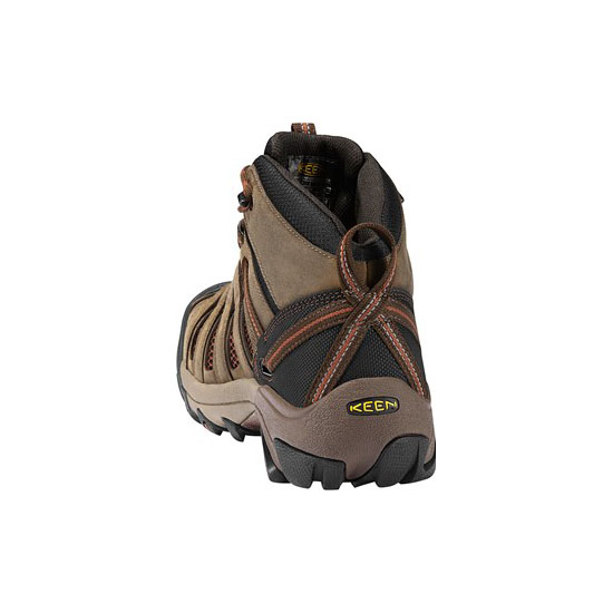 KEEN Men slate black/burnt henna FLINT MID Outlet Store