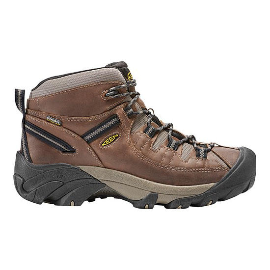 KEEN Men TARGHEE II MID WIDE shitake/brindle On Sale