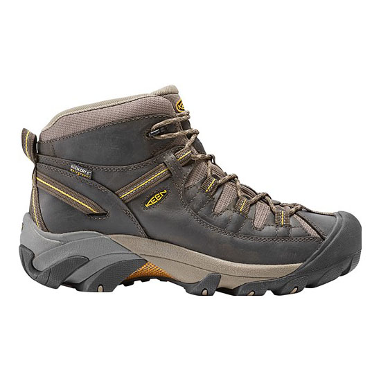 Men KEEN TARGHEE II MID black olive/yellow Outlet Online