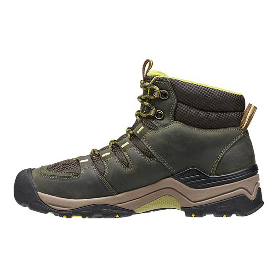 KEEN Men GYPSUM II WATERPROOF BOOT forest night/warm olive On Sale