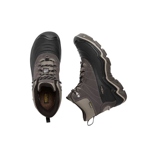 Cheap KEEN DURAND POLAR SHELL Men black olive/brindle Online