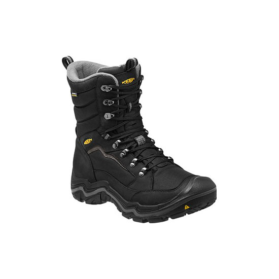 Men KEEN DURAND POLAR WP black/gargoyle Outlet Online