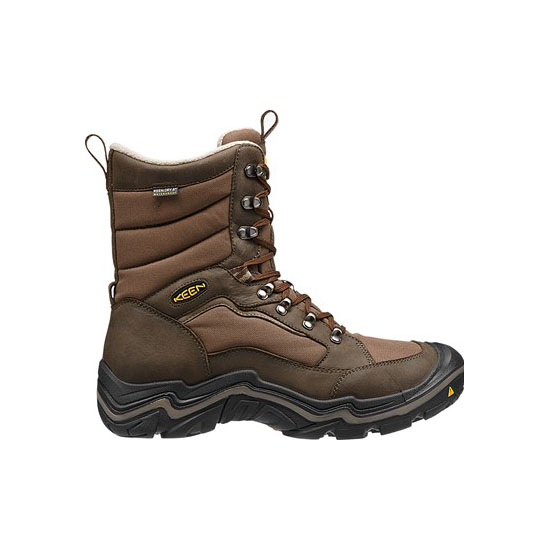 Cheap KEEN DURAND POLAR WP Men cascade brown/brindle Online