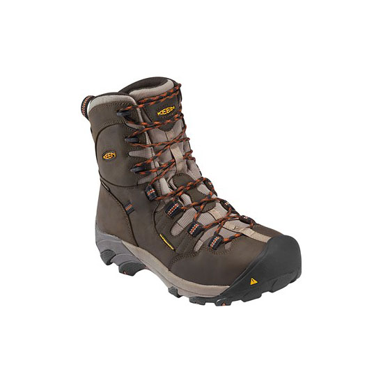 "Cheap KEEN DETROIT 8"" Men black olive Online"