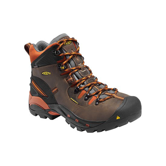 Cheap KEEN PITTSBURGH (SOFT TOE) Men cascade brown/bombay brown Online