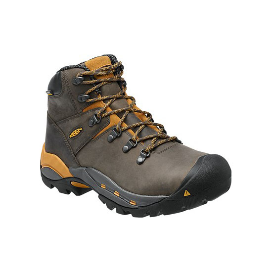 KEEN Men CLEVELAND (SOFT TOE) raven/inca gold On Sale