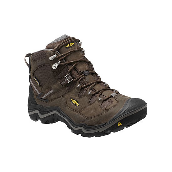 Men KEEN DURAND MID WP cascade brown/gargoyle Outlet Online