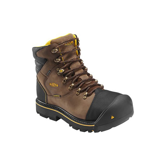 Men KEEN MILWAUKEE WP dark earth Outlet Online