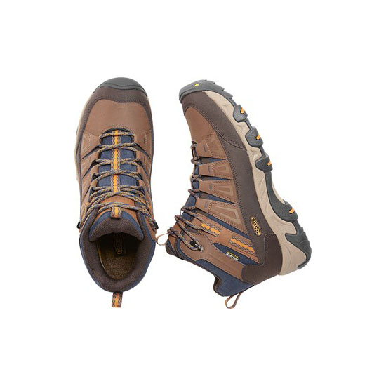 Men KEEN OAKRIDGE POLAR WATERPROOF BOOT dark earth/tortoise shell Outlet Online