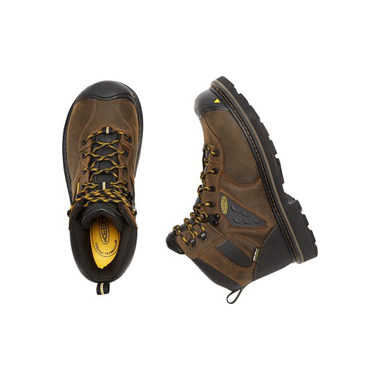 Men KEEN TACOMA WATERPROOF (SOFT TOE) cascade brown Outlet Online