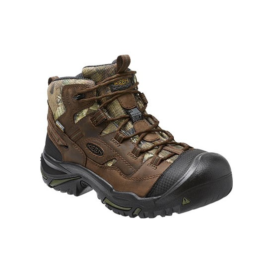 KEEN Men mo infinity BRADDOCK MID WATERPROOF (SOFT TOE) CAMO Outlet Store