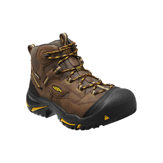 KEEN Men cascade brown/tawny olive BRADDOCK MID WP Outlet Store