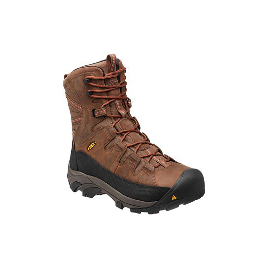 Men KEEN MINOT INSULATED cascade brown/bossa nova Outlet Online