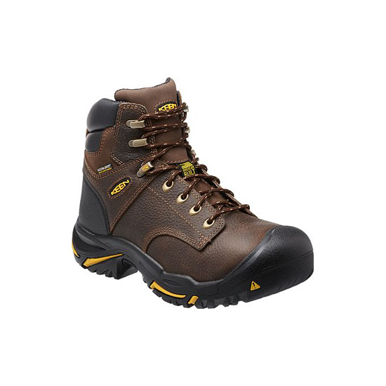"KEEN Men cascade brown MT VERNON 6"" (SOFT TOE) Outlet Store"