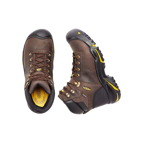 "KEEN Men cascade brown MT VERNON 6"" Outlet Store"