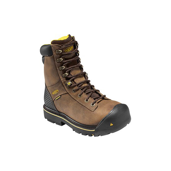 "KEEN Men brown WENATCHEE 8"" Outlet Store"