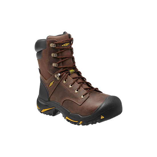 "KEEN Men cascade brown MT VERNON 8"" Outlet Store"