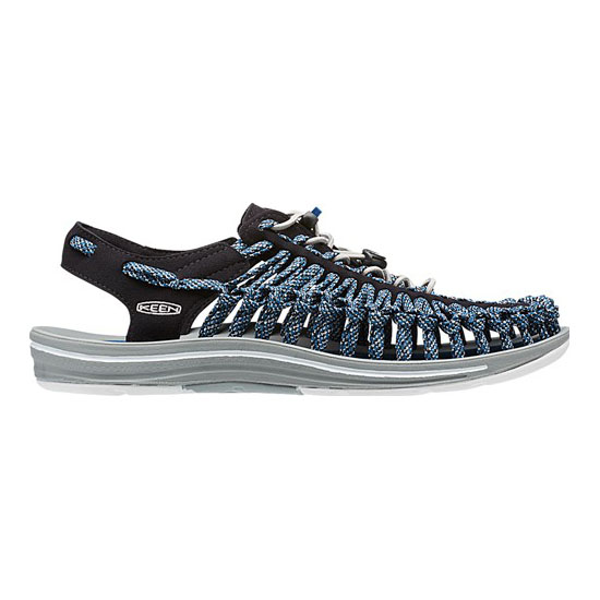 Men KEEN UNEEK FLAT CORD black/cano Outlet Online