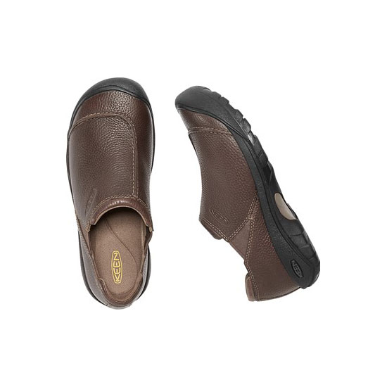 Men KEEN AUSTIN SLIP-ON cascade brown Outlet Online