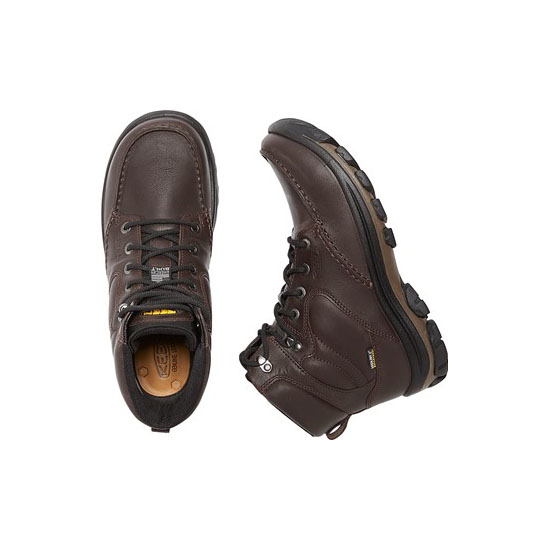 Men KEEN ANCHOR PARK BOOT WP brown Outlet Online