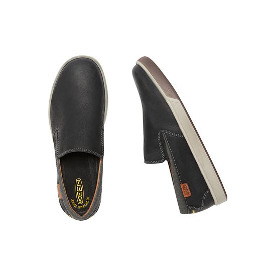 KEEN Men black GLENHAVEN SLIP-ON Outlet Store