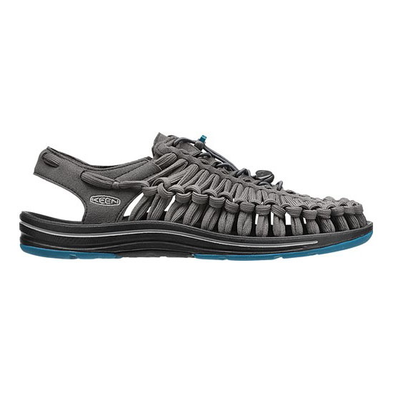 Men KEEN UNEEK FLAT CORD raven/ink blue Outlet Online
