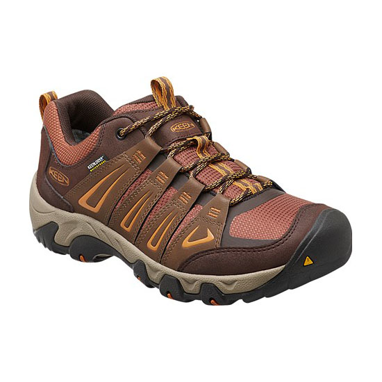 KEEN Men OAKRIDGE WATERPROOF dark earth/tortoise shell On Sale