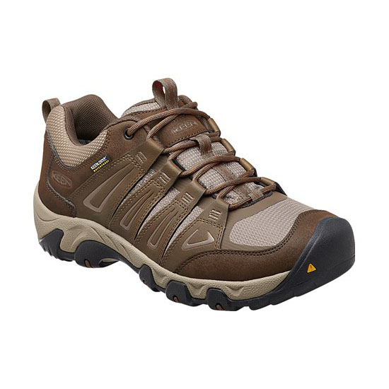 KEEN Men cascade brown/brindle OAKRIDGE WATERPROOF Outlet Store