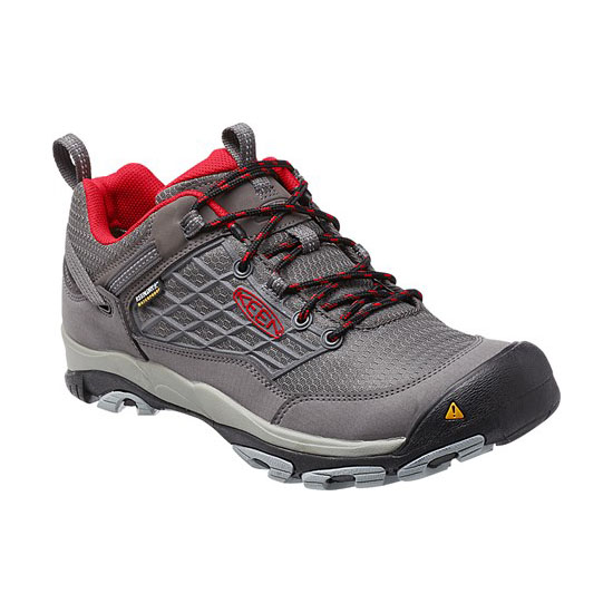 Cheap KEEN SALTZMAN WP Men magnet/racing red Online