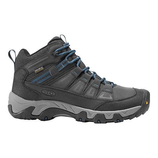 Men KEEN OAKRIDGE POLAR WATERPROOF BOOT black/ink blue Outlet Online