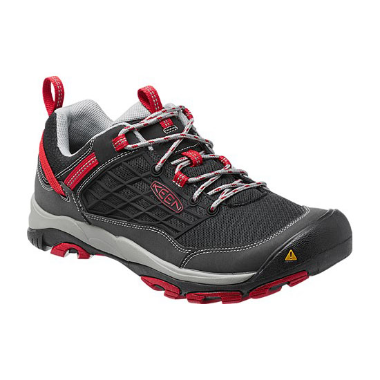 KEEN Men black/racing red SALTZMAN Outlet Store