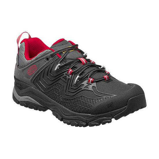 KEEN Men APHLEX WATERPROOF black/tango On Sale