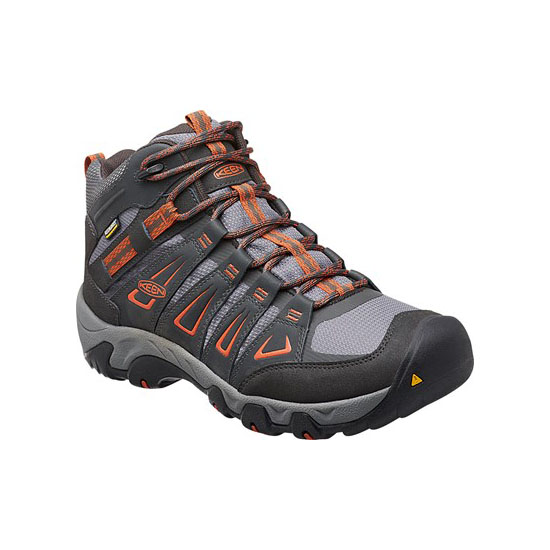 Men KEEN OAKRIDGE WATERPROOF BOOT raven/burnt ochre Outlet Online