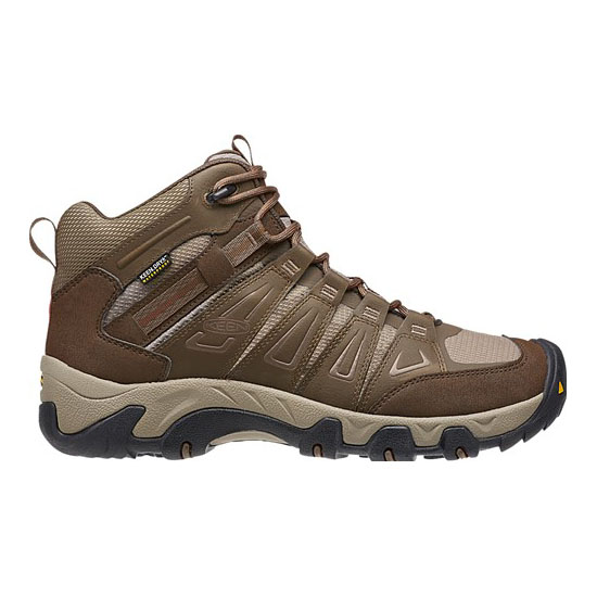 Cheap KEEN OAKRIDGE WATERPROOF BOOT Men cascade brown/brindle Online