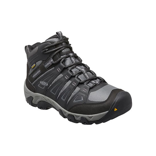 Men KEEN OAKRIDGE WATERPROOF BOOT magnet/gargoyle Outlet Online