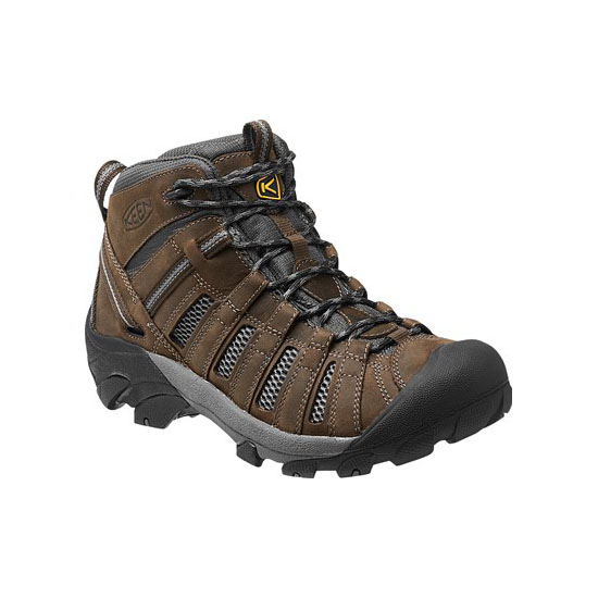 Cheap KEEN VOYAGEUR MID Men cascade brown/raven Online