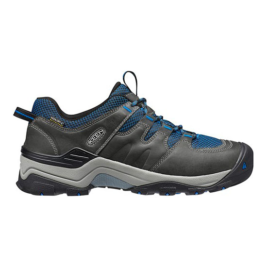 Men KEEN GYPSUM II WATERPROOF neutral gray/imperial blue Outlet Online