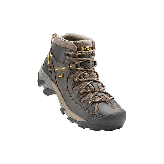 KEEN Men TARGHEE II MID black olive/yellow On Sale
