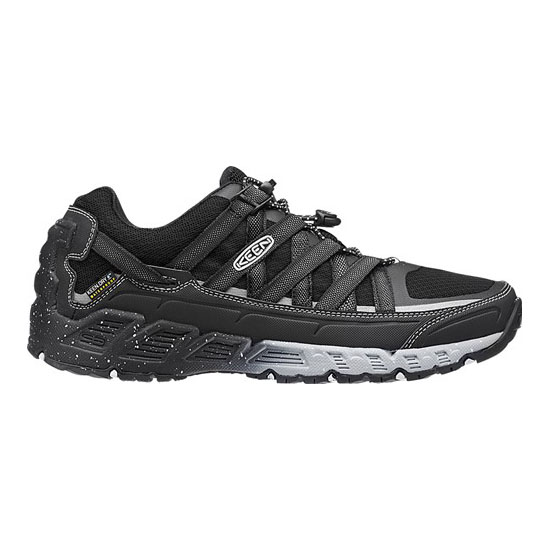 Men KEEN VERSATRAIL WATERPROOF raven/white Outlet Online