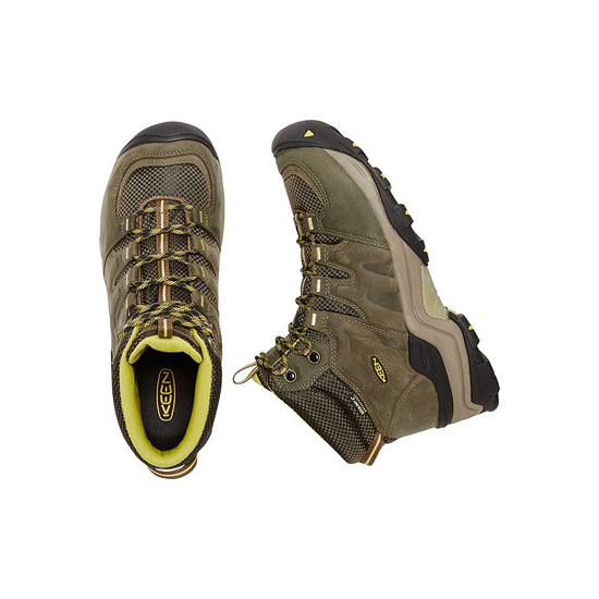 KEEN Men forest night/warm o;ive GYPSUM II WATERPROOF BOOT Outlet Store
