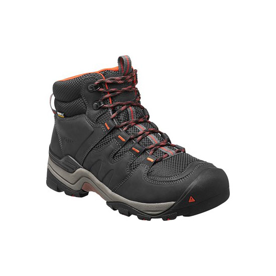 Men KEEN GYPSUM II WATERPROOF BOOT india ink/burnt ochre Outlet Online