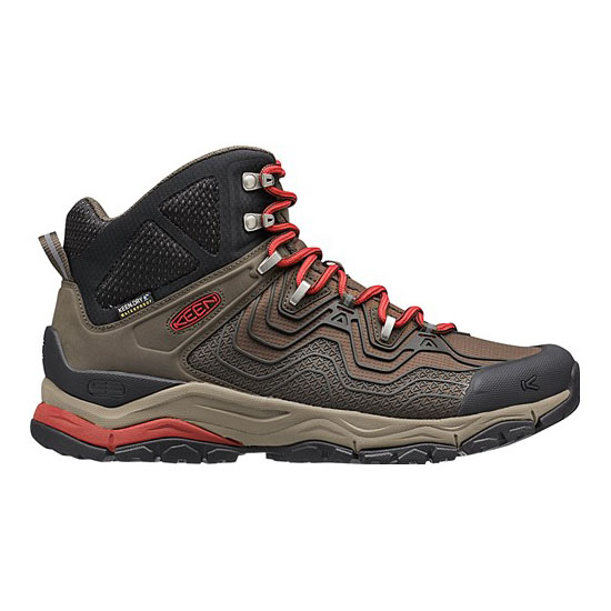 KEEN Men APHLEX WATERPROOF BOOT black olive/bossa nova On Sale