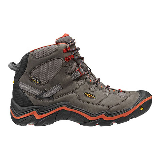 Men KEEN DURAND MID WP magnet/red clay Outlet Online