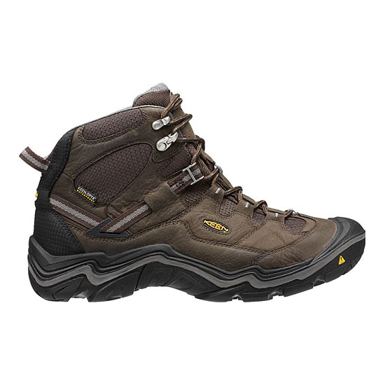 Men KEEN DURAND MID WP WIDE cascade brown/gargoyle Outlet Online