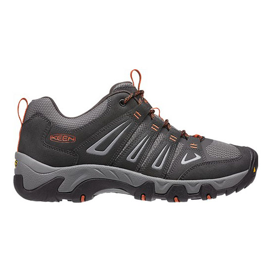 Cheap KEEN OAKRIDGE Men raven/burnt ochre Online