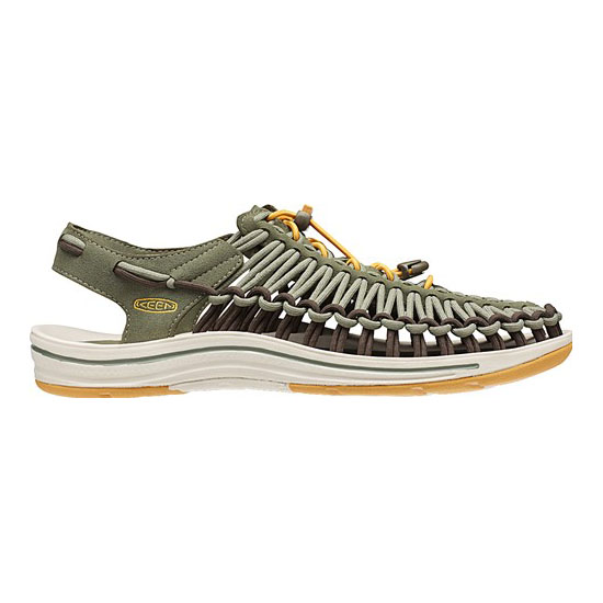KEEN Men UNEEK ROUND CORD deep lichen/golden yellow On Sale