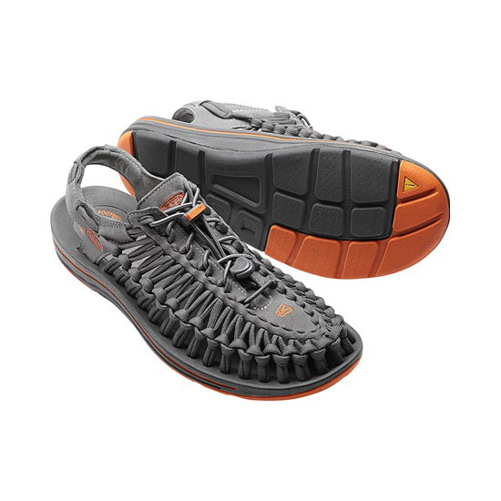Cheap KEEN UNEEK FLAT CORD Men gargoyle/burnt orange Online