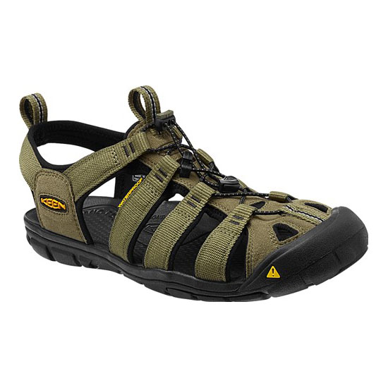 KEEN Men burnt olive/black CLEARWATER CNX Outlet Store
